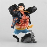 One Piece - Luffy Gear 4 Haki Figürü