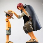 One Piece - Luffy & Shanks Figürü