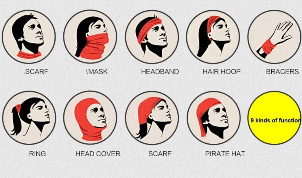 bandana nasıl kullanılır